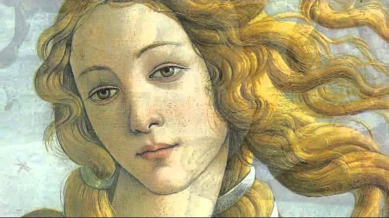 Volto Venere di Botticelli